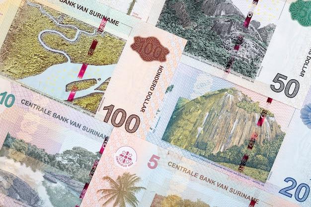 Surinamische dollarbanknoten