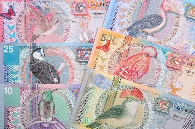 Surinamische gulden-banknoten