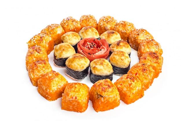 Sushi gesetzt