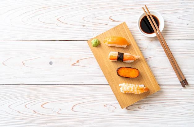 Sushi-set mischen