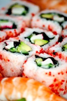 Sushi - traditionelles japanisches essen.