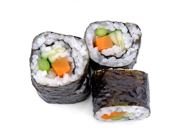 Sushirolle mit gemüse