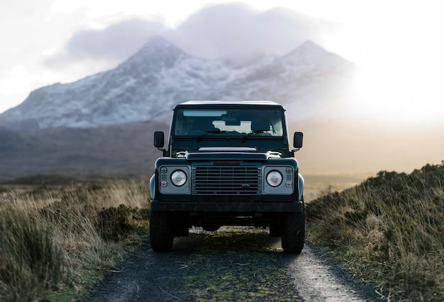Suv in den highlands