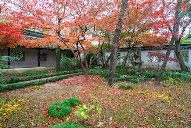 Suzhou gardens, bescheidener administratorgarten in suzhou, china