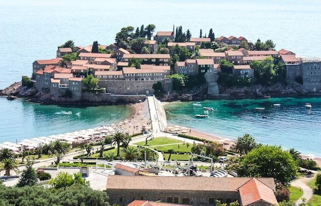 Sveti stefan insel montenegro