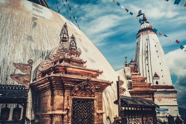 Swayambhunath-affentempl