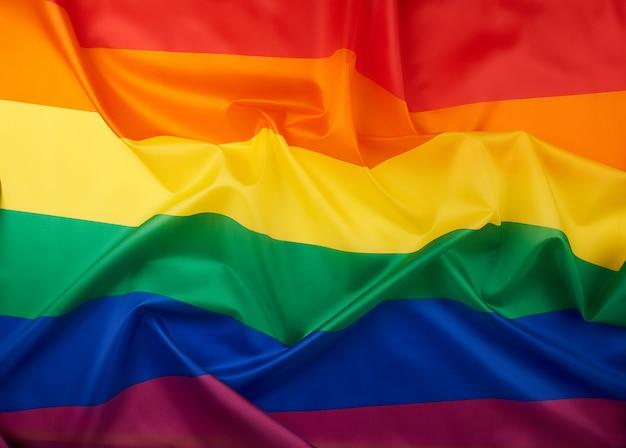 Symbol der wahlfreiheit von lesben, schwulen, bisexuellen und transgender-personen