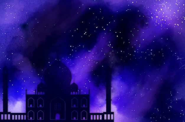 Symbol des islamischen feiertags ramadan