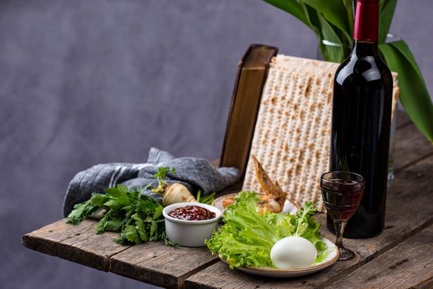 Symbol des jüdischen feiertags pesah