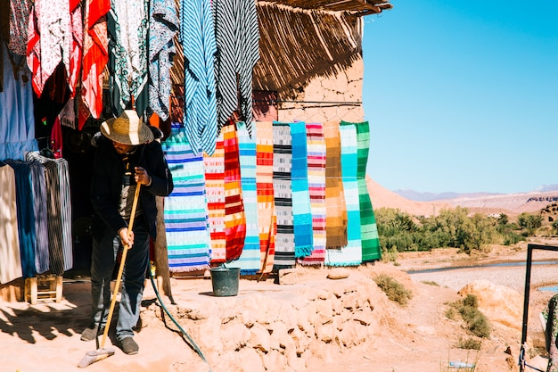 Szene aus marokko