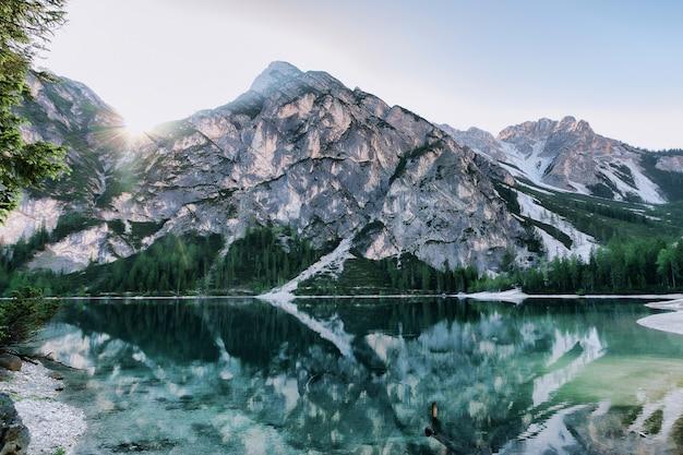 Szenische ansicht der berge