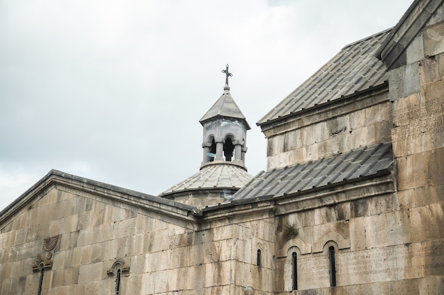 Szenische ansicht einer alten kirche in armenien