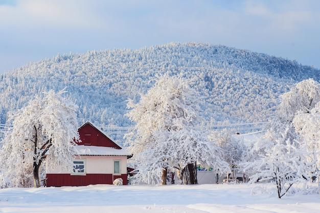Szenische winterlandschaft