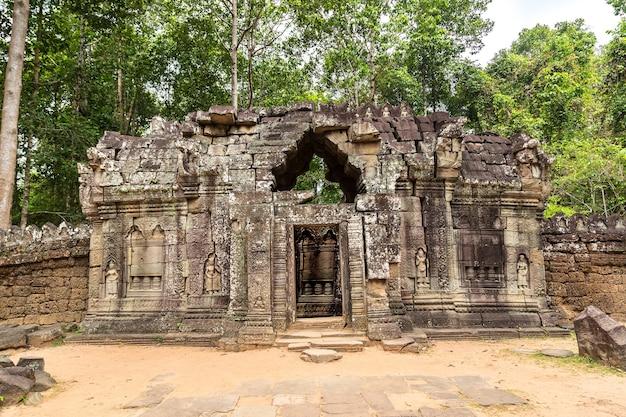 Ta som tempel in angkor wat in siem reap, kambodscha