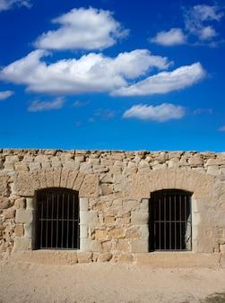 Tabarca-inselmauer-fortmauer-wanddetail
