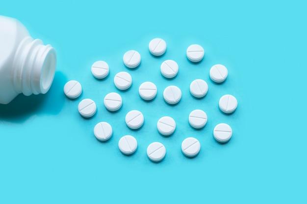 Tabletten von paracetamol