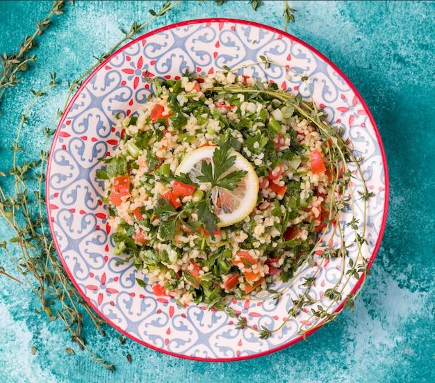 Tabule - orientalischer salat, vorspeise