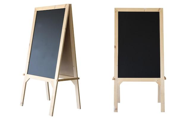 Tafel-isolat auf weißem hintergrund.