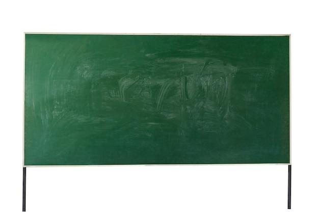 Tafel isoliert auf weißem hintergrund