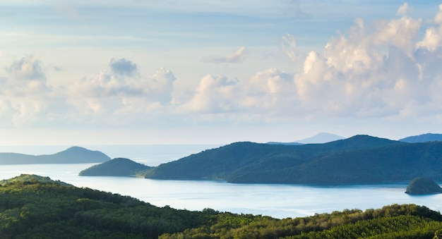Tafelberge und andaman oean