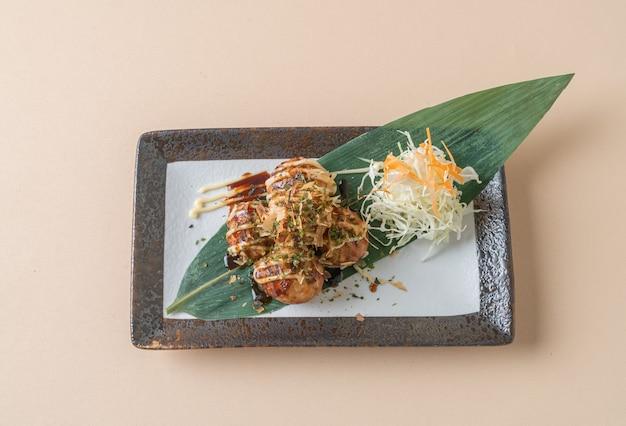 Takoyaki ballknödel oder octopus bälle