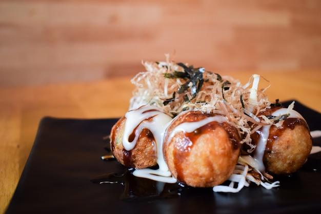 Takoyaki japanische tintenfischbälle