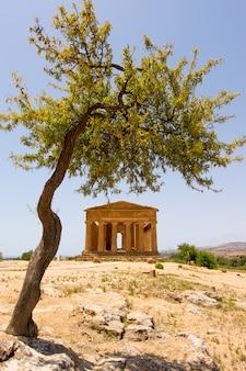 Tal der tempel, agrigent sizilien in italien.