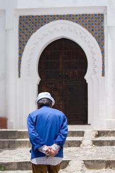 Tanger architektur der türen