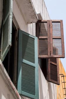 Tanger-architektur von fenstern
