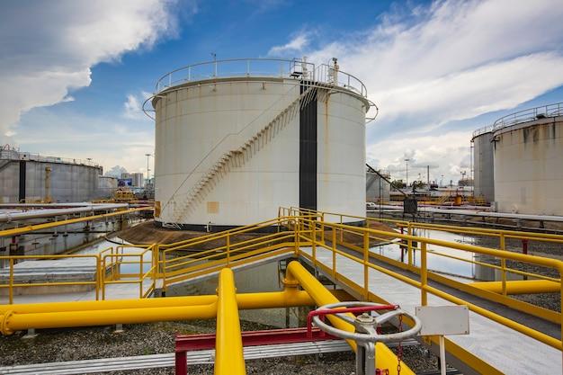 Tankanlagenausrüstung für den pipeline-einlass von öl und gas.