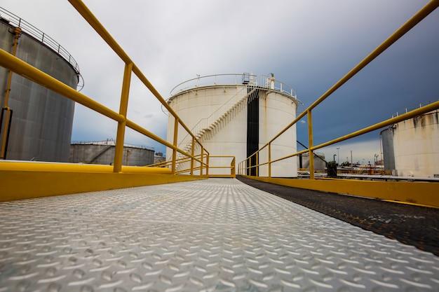 Tankboden-laufsteg-anlagen für pipeline-einlass- und auslassöl