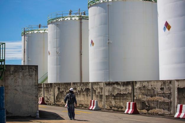 Tanklager der chemischen industrie aus kohlenstoffstahl der tank.