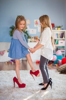 Tanzen wie erwachsene