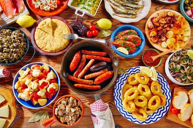 Tapas aus spanien mix der beliebtesten