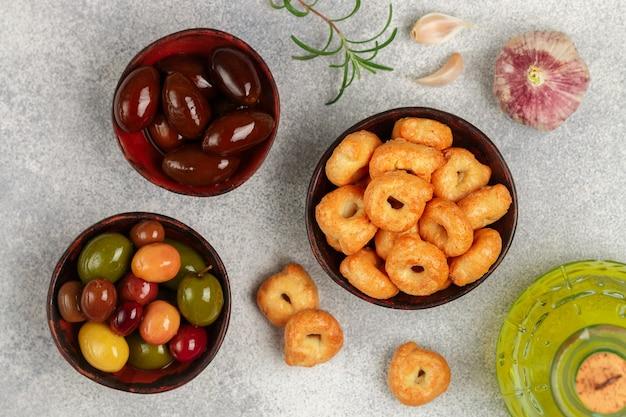 Tarallini-italienische kleine bagels