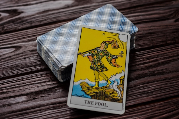 Tarotkarte: der narr