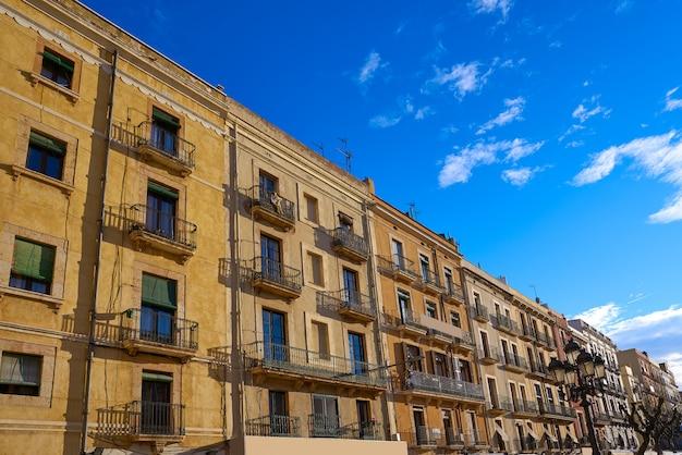 Tarragona plaza font platz katalonien