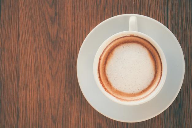 Tasse cappuccino-kaffee