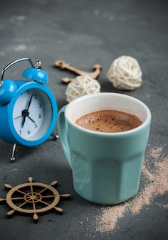 Tasse heiße schokolade oder kakao