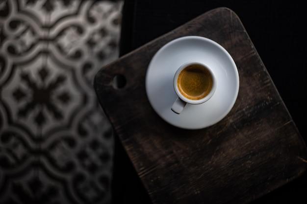 Tasse kaffee am morgen