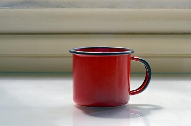 Tasse kaffee emailliert