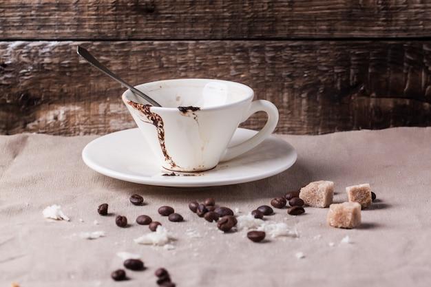 Tasse kaffee getrunken