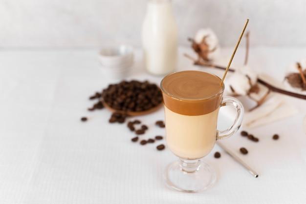 Tasse köstliche frappe