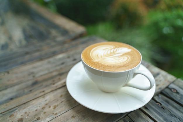 Tasse lattekaffee