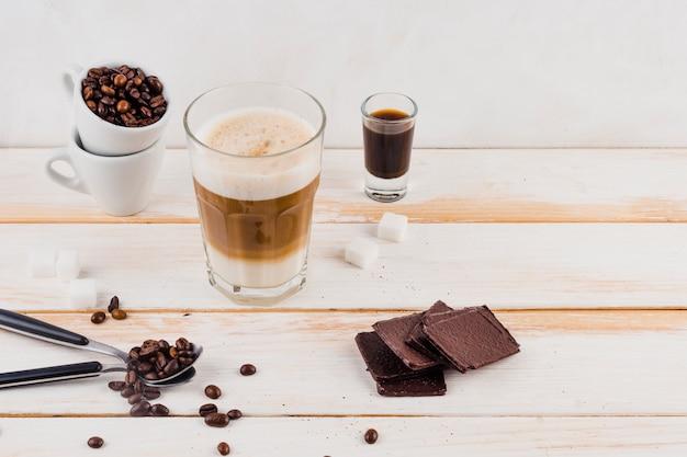 Tasse leckeren kaffee