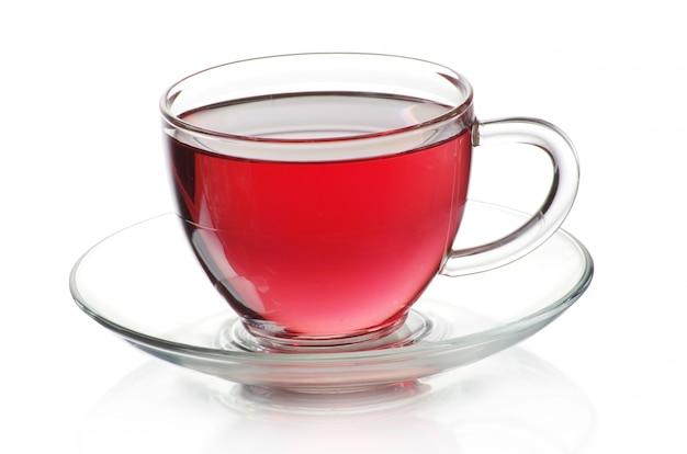 Tasse tee und untertasse