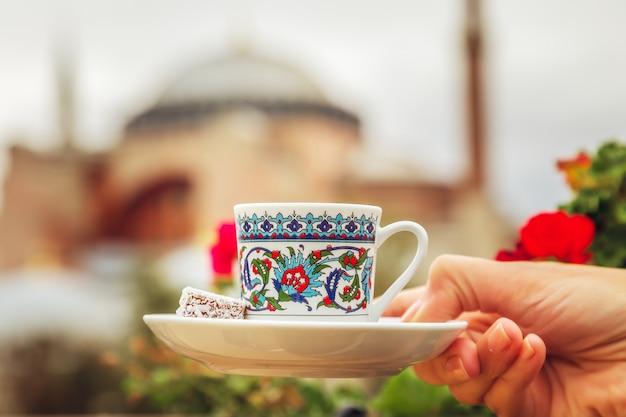 Tasse türkischen kaffee
