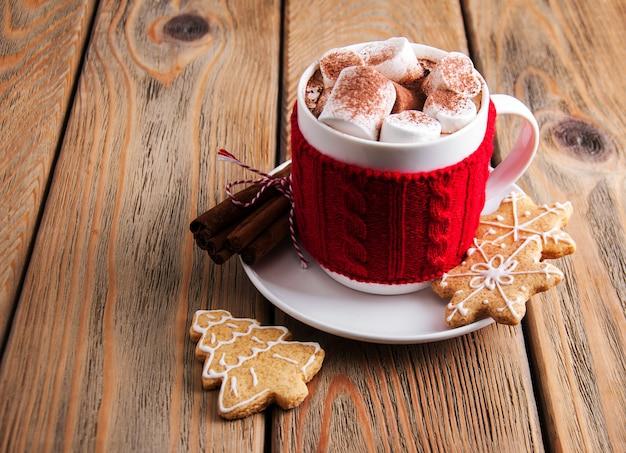 Tasse weihnachtskakao