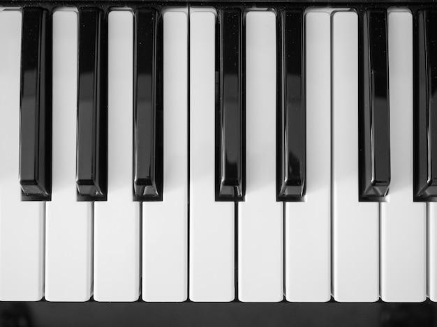 Tasten der musiktastatur