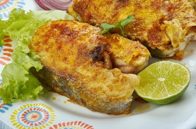 Tawa fish fry - bangude fisch masala fry